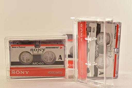 Microcassettes & Minicassettes