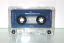 Printed sample on totally clear laser printable audio cassette labels