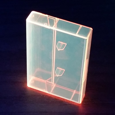 Fluorescent Norelco Cases for Audio Cassettes