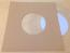 """Brown Kraft Inner Paper Sleeve for 7"""" Vinyl Record - 50 Pack"""