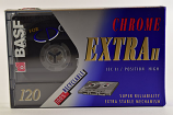 Vintage BASF Chrome 120 Minute Audio Cassette, Sealed
