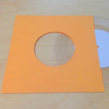 "Gold Inner Sleeve for 7"" Vinyl Record - 50 Pack"